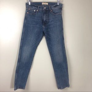 Gap 1969 High Rise Slim Straight Stretch Jeans